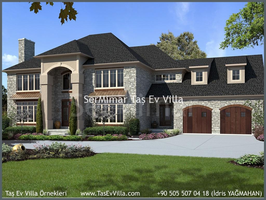 Taş Villa Modelleri Ve Fiyatları Anahtar Teslim 2015